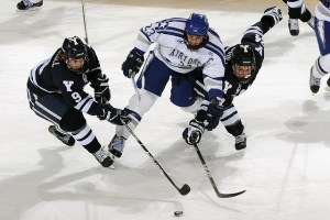 Hockey is one of the foremost college sports in Canada