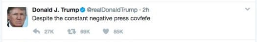 Pope insults Trump covfefe 2