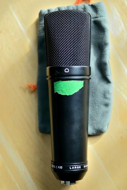 Apex 430 microphone front