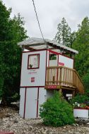 Outhouse on Flowerpot Island