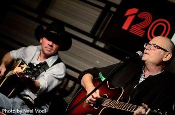 Bruce Harrott with John Chris Ford