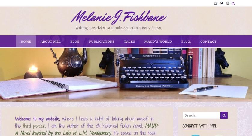 Melanie Fishbane homepage