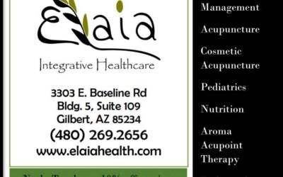 paid ad for elaia integrative health care