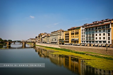 Florence Bridge over Arno River