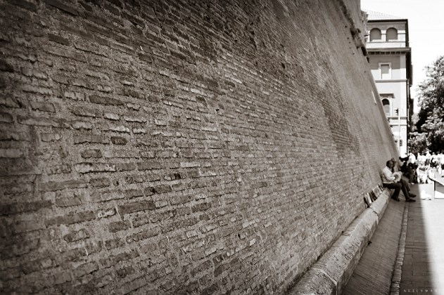 Wall Surrounding Vatican City