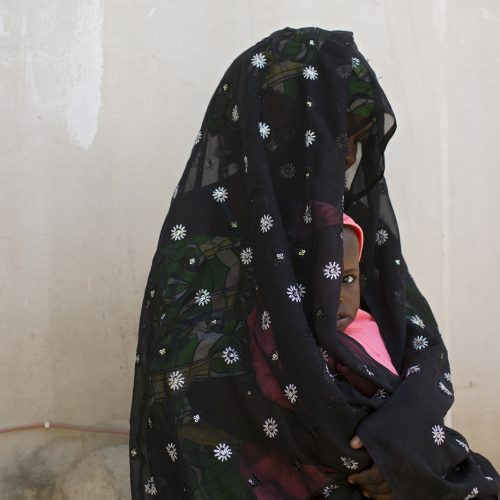Zara, 19, was forced to move to Boko Haram's headquarter in Sambisa forest after her husband joined the insurgents when their daughter was two months old. At one point during captivity she was impregnated by him but then later lost the baby because he beat her after she was quarreling with his other wife. After that incident, she demanded a divorce, which she was granted after imams attempted to exorcise devils out of her to no avail.