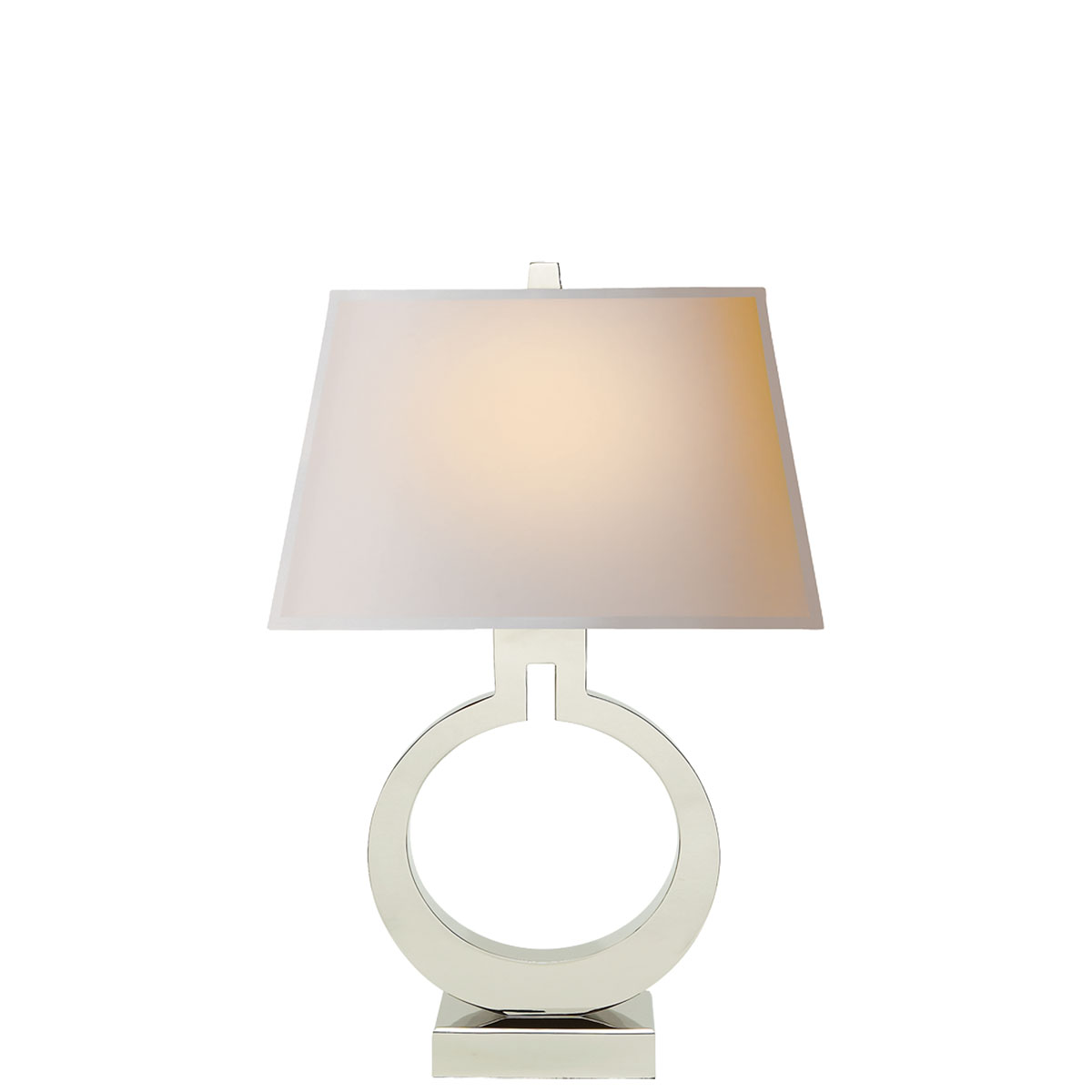 Visual Comfort Large Ring Table Lamp, Table Lamp