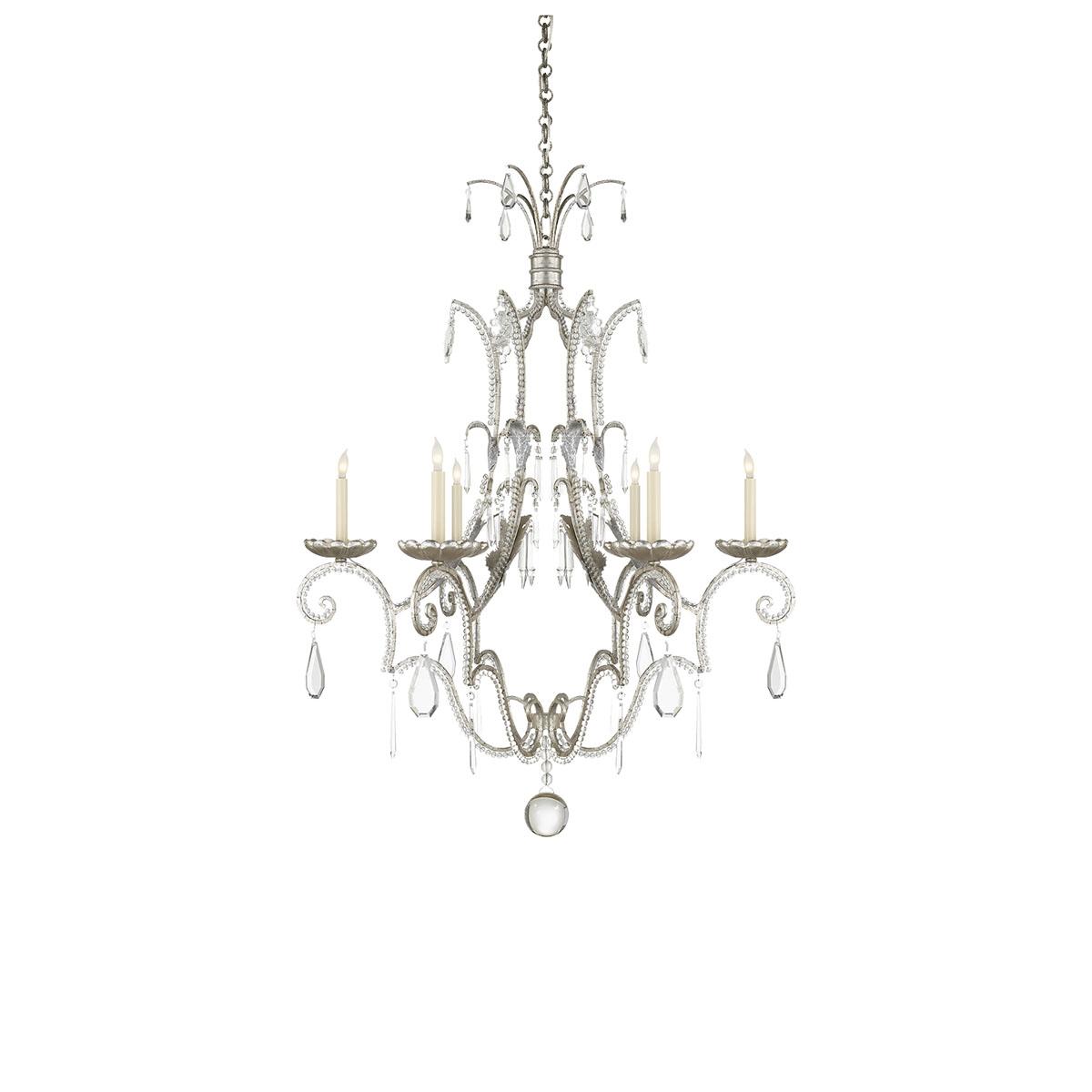 Visual Comfort Middleton 6 Lights Chandeliers Chandeliers