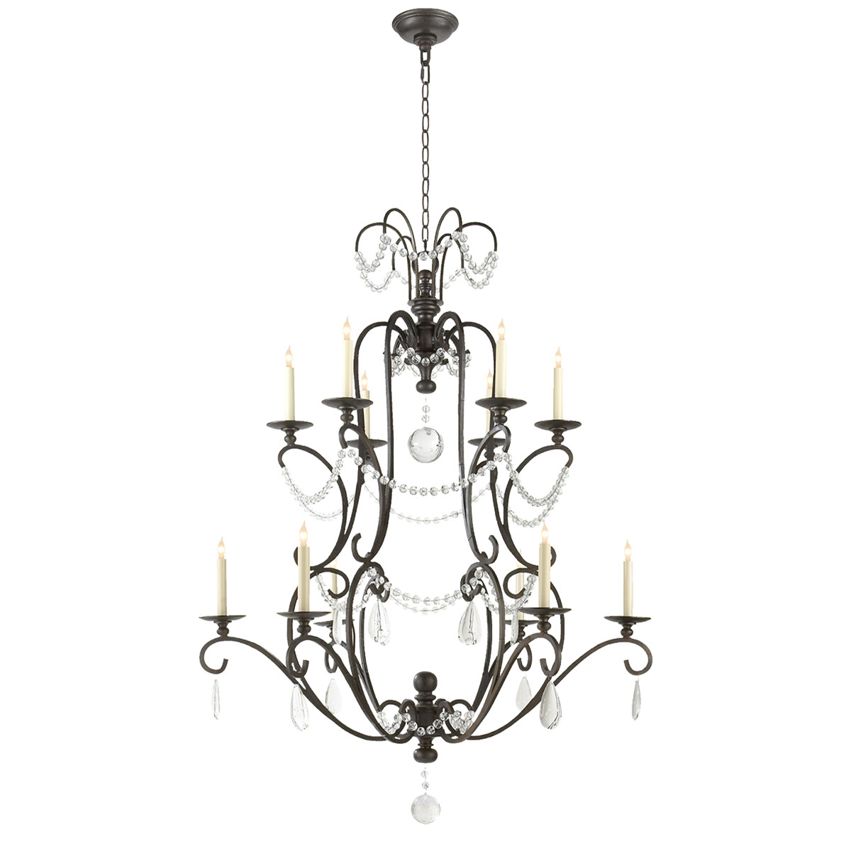 Visual Comfort Jumbo Orvieto Chandeliers Chandeliers