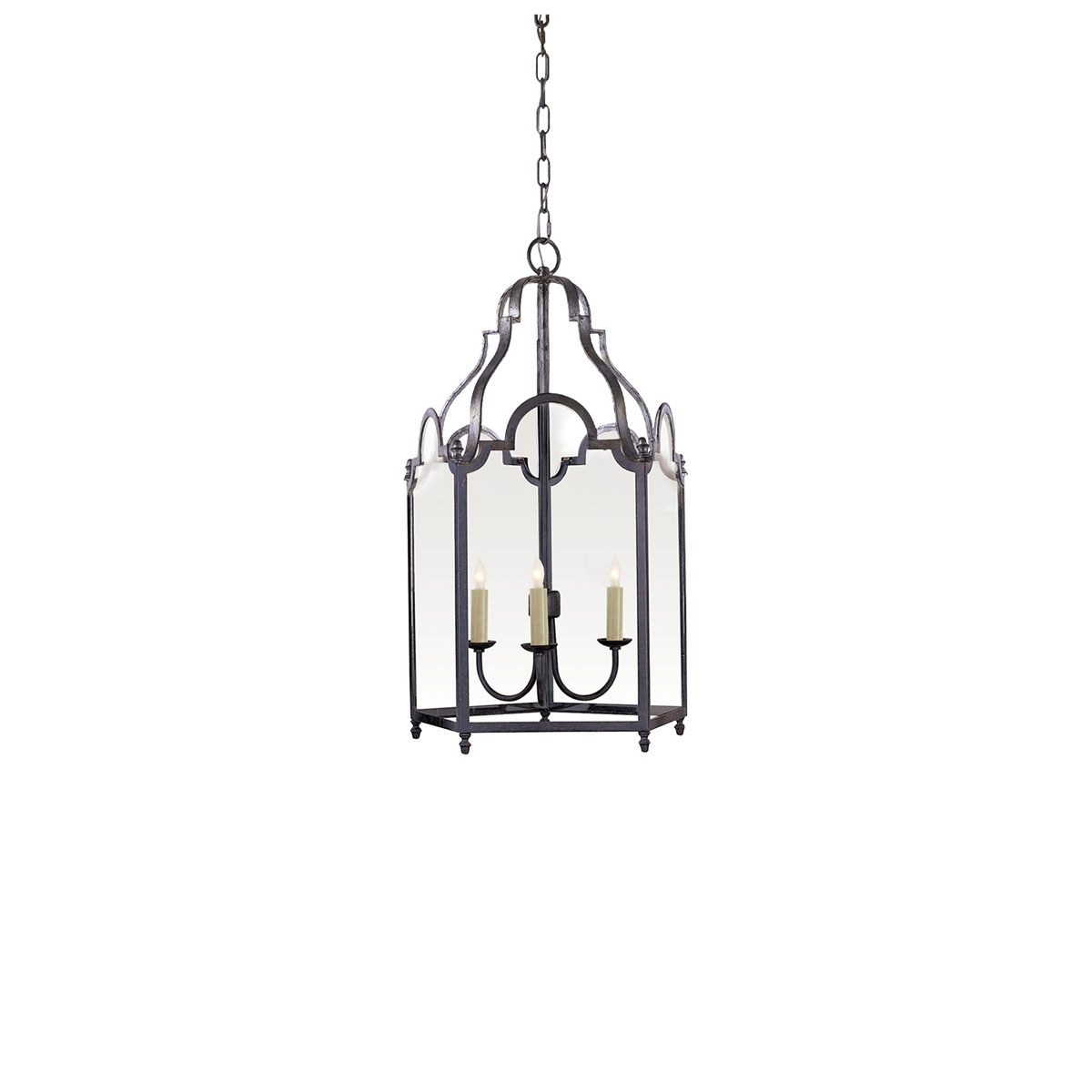 Visual Comfort 3 Lights French Market Ceiling Mounts