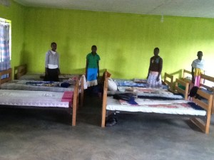 Boys in their dormitory