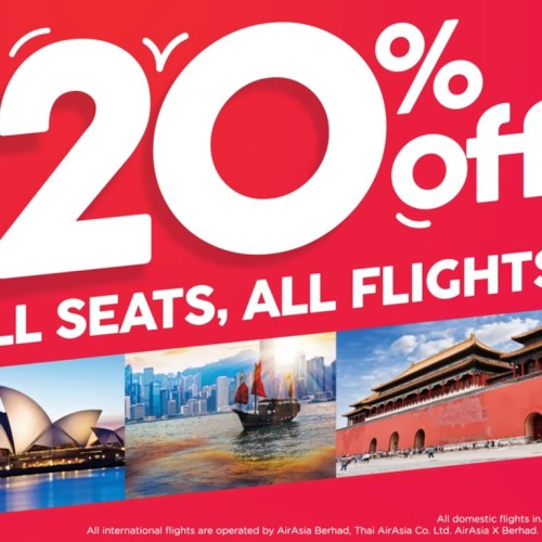 20% off All Seats All Flights | AirAsia India