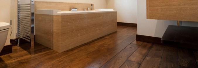 Een houten vloer voor de badkamer, kan dat? - Neerlandia Houten Vloeren