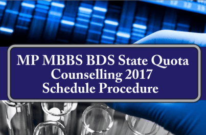 MP NEET State Quota Counselling