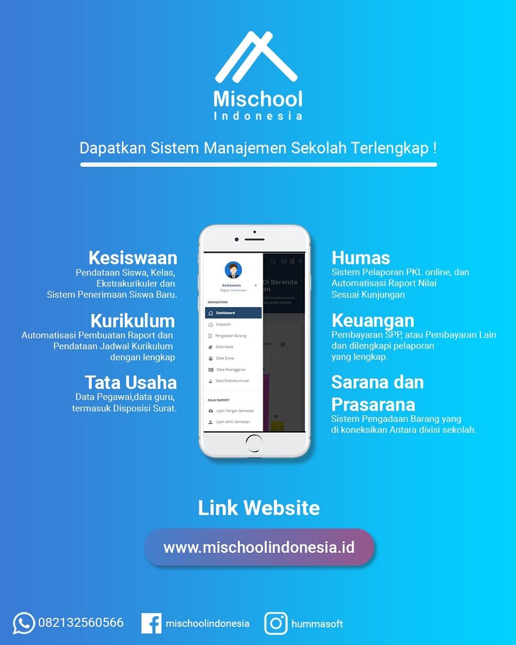 Aplikasi Manajemen Sekolah Berbasis Web Gratis : aplikasi, manajemen, sekolah, berbasis, gratis, Mischool, Aplikasi, Sekolah, Berbasis, Online, Terlengkap, Termurah, KeBuTuHaN