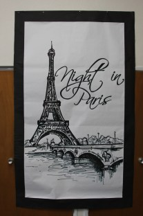 11'x5' mural - permanent marker on fadeless paper by Julie Nef