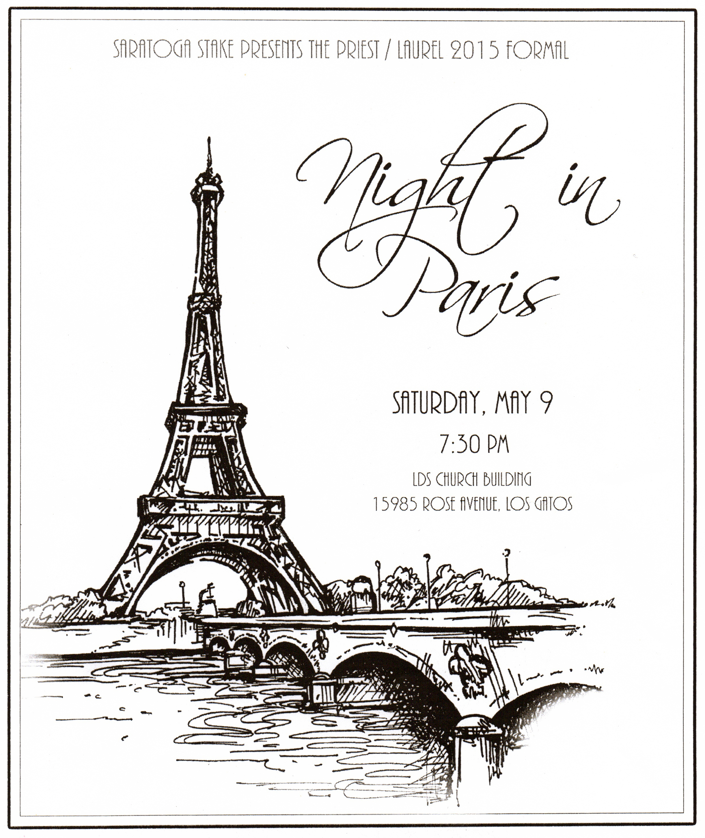 paris theme party