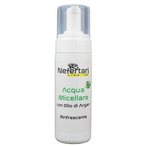 Acqua Micellare Bio con olio di Argan rinfrescante