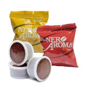 caffè in capsule aroma gold e aroma intenso