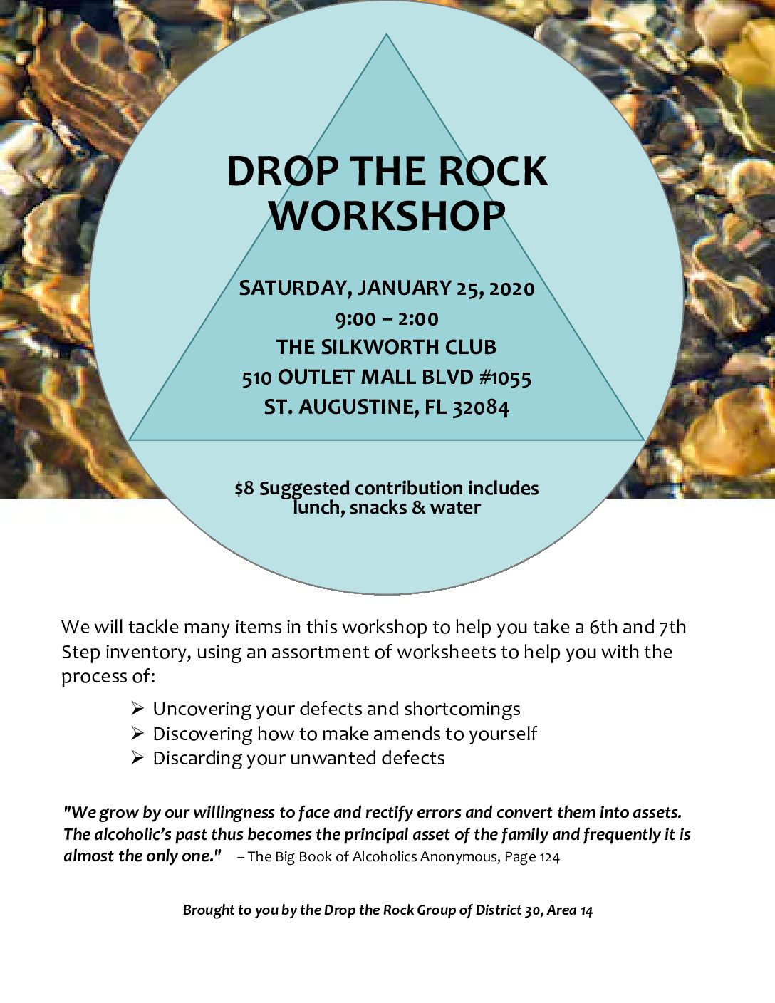 Drop The Rock Workshop