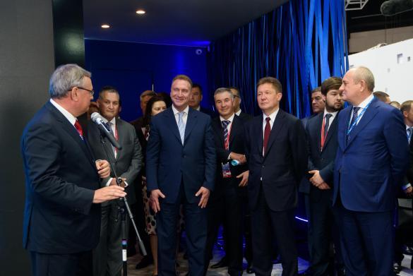 ПАО Газпром на ПМЭФ 2019