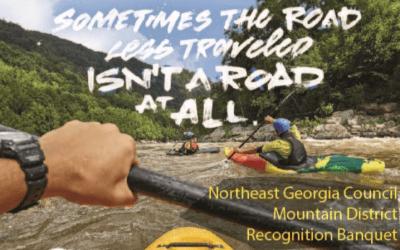 2020 Northeast Georgia Council Mountain District Recognition Banquet