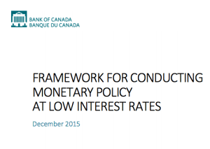 Bank of Canada Report from January 2016