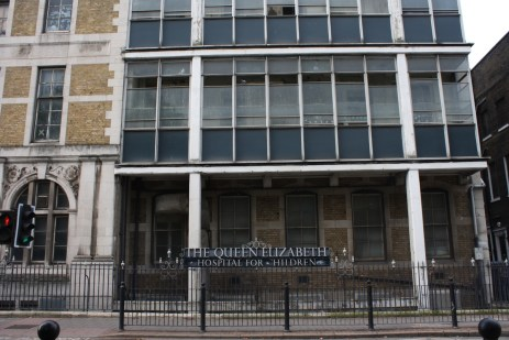 Right on the border of Hackney and Tower Hamlets, this old children's hospital has been set for demolition and much of the community is in disagreement about the housing development that is to replace it.