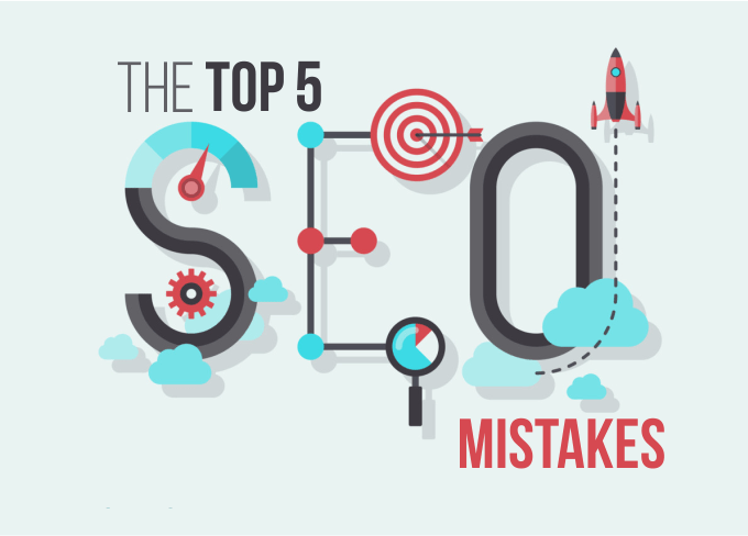 SEO areas where Webmaster makes the most mistakes