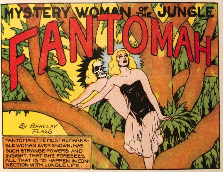 Fantomah - Mystery Woman Of The Jungle