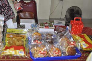 Berbagai produk olahan dari sukun, yakni roti, keripik balado dll