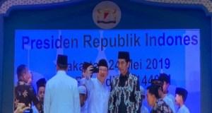 SWAPHOTO-Ketua Umum KADIN Babel Ir Thomas Jusman MM berswaphoto bersama Predisen Jokowi di sela-sela Buka Puasa Presiden bersama KADIN Indonesia