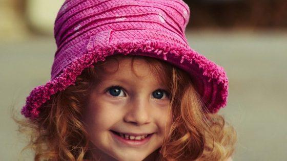笑顔な少女