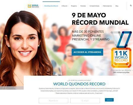 World Quondos Record - Marketing Online.