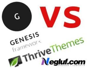 Comparativa entre Genesis Framework y Thrive Themes.