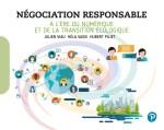 Couverture du livre Négociation Responsable