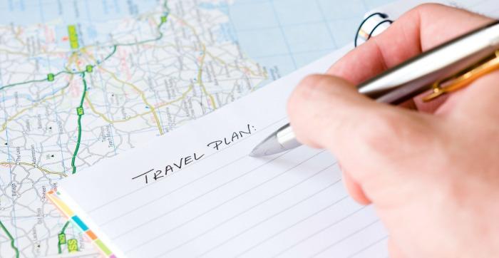 plan de viaje