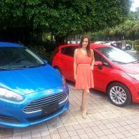Ford presentó sus nuevos modelos Fiesta de 2014 en Miami