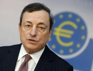 # 9 El presidente del Banco Central Europeo, Mario Draghi. (AP Foto/Michael Probst)