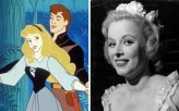 Mary Costa was already a successful opera singer when she auditioned for the role of Aurora for Sleeping Beauty in 1952. Hours later Walt called her personally to offer her the role. To this day she continues to do promotional appearances for Disney. Picture: Rex (right)