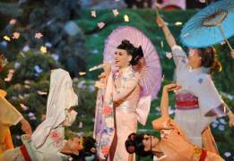 ACTUACIÓN DE KATY PERRYKaty Perry fue una de las artistas encargadas de amenizar la gala celebrada en el Nokia Theatre de Los Ángeles. (GTRES) Ver más en: http://www.20minutos.es/fotos/artes/41-edicion-de-los-american-music-awards-