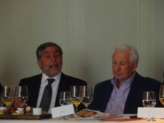 Jose Alberto Zuccardi y Mario Graziano.