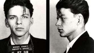 Frank Sinatra. Detenido en 1938 por seducir a una mujer casada
