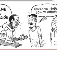 ¿Qué tengo que hacer si soy arrestado por agentes de inmigración?