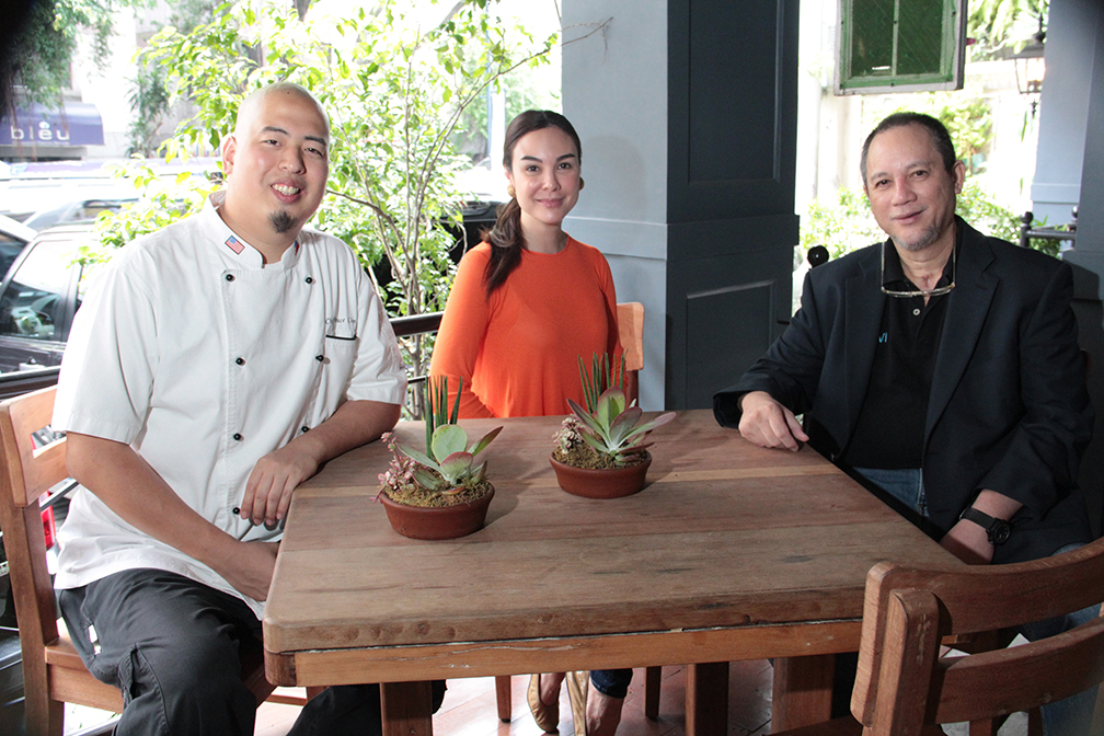 Chef Bruce Lim Gretchen Barretto And Tony Boy Cojuangco Negosentro Negosentro