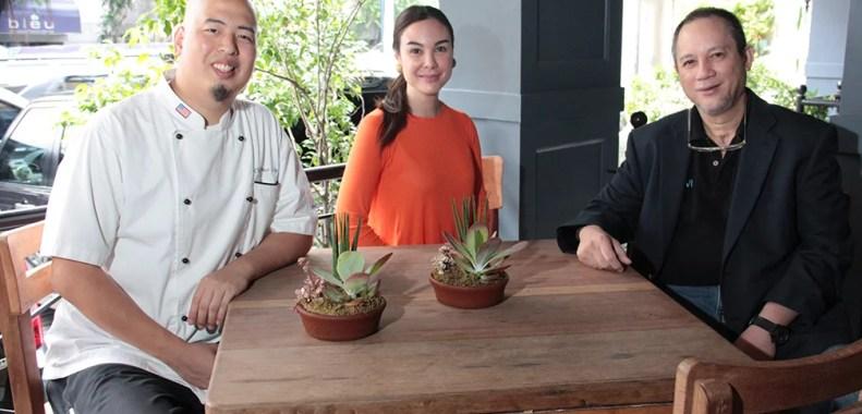 Chef Bruce Lim Gretchen Barretto And Tony Boy Cojuangco Negosentro Negosentro