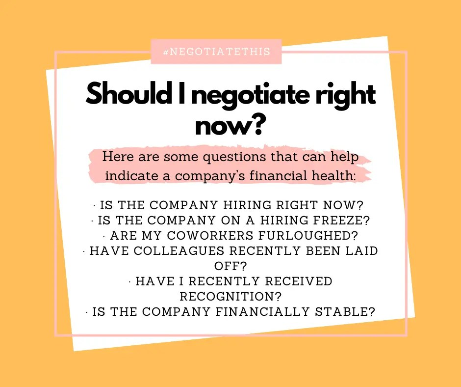 Questions that can help indicate a company's financial health.