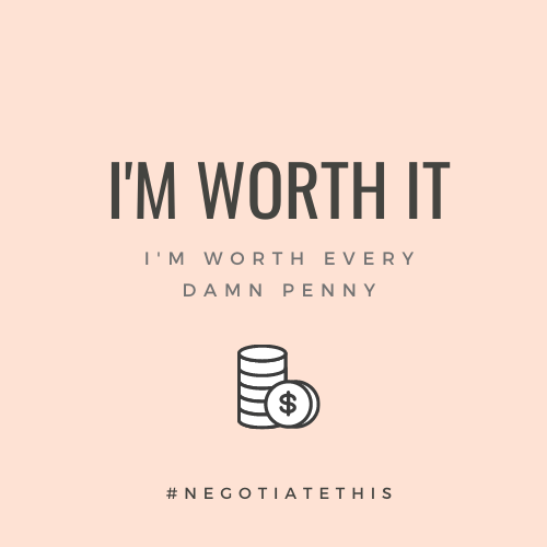 I'm worth it
