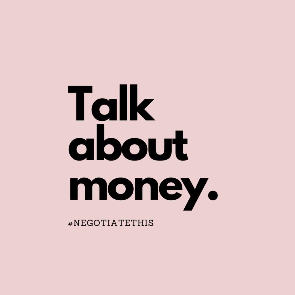talk about money