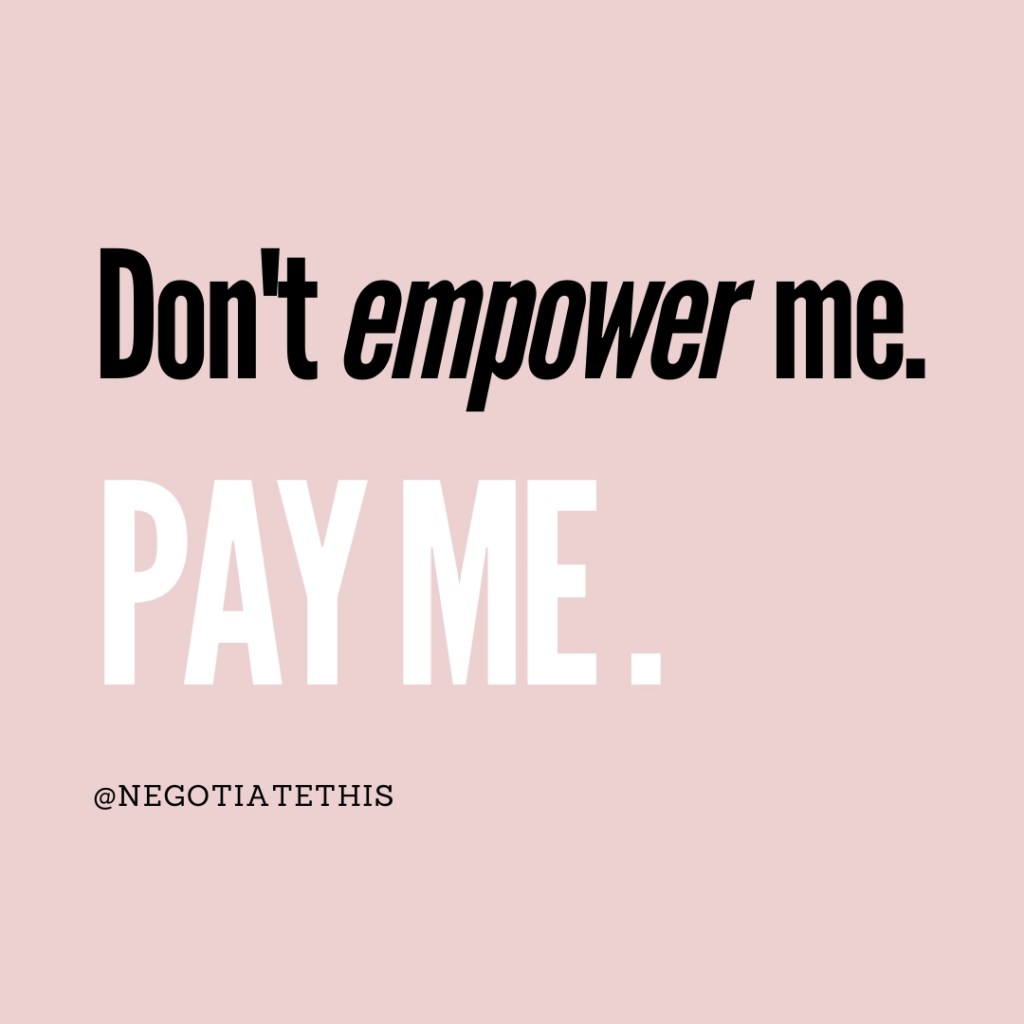 aren't any funds left don't empower me pay me